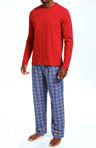 Tommy Hilfiger Sleep Top and Flannel Pant Gift Set 09T1055