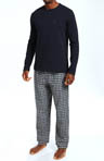 Tommy Hilfiger Sleep Top and Flannel Pant Gift Set 09T1056