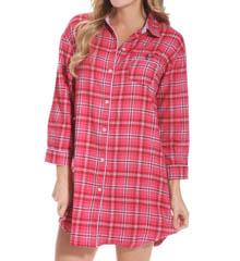 Tommy Hilfiger Flannel Sleepshirt R42S068