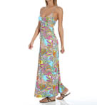 Coral Reef Long Cover-Up Dress Image