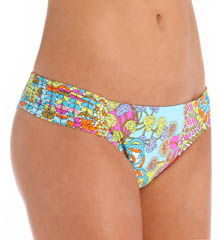 Trina Turk Coral Reef Tab Side Hipster Swim Bottom TT5B490