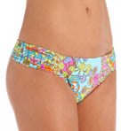 Coral Reef Tab Side Hipster Swim Bottom Image