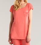 Shirley Jersey Knit Sleep Tunic Image