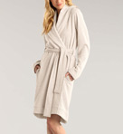 Blanche Double Knit Short Robe Image