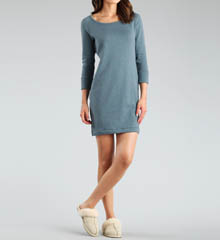 UGG Australia Lightweight Knit Lirette Long Sleeve Nightdress UA5208W