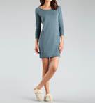 Lightweight Knit Lirette Long Sleeve Nightdress Image