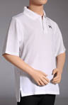 Boys Heatgear Short Sleeve Performance Polo