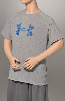 Boys Big Logo Short Sleeve Tech T-Shirt