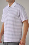Power in Pink Stripe Polo