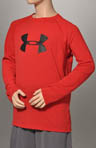 Boys Big Logo UA Tech Long Sleeve Tee