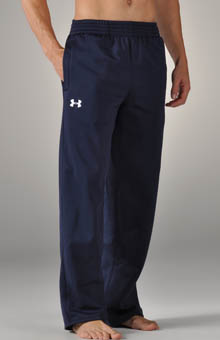 Armour Fleece Open Bottom Team Pant