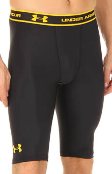 UA Heatgear Long Compression Short