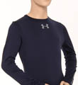 Boys UA Evo Coldgear Fitted Crew Image