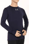 Boys UA Evo Coldgear Fitted Crew