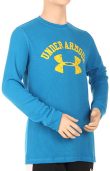 Boys Limitless Collegiate Waffle Longsleeve