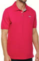 UA Charged Cotton Pique Polo Image