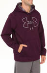 Armour Fleece Storm Outline Big Logo Hoody