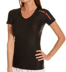UA Swim Lianne Short Sleeve Rash Guard Image