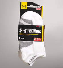 Boys Training No Show Sock 4 Pack
