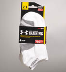Boys Training No Show Socks - 4 Pack