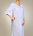 Petals Embroidered Zip Caftan Image