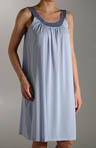 Sleeveless Tricot Gown