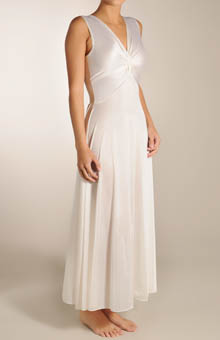 Twist Neck Long Nightgown