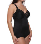 Va Bien Classic Full Figure Long Torso Bodysuit 1260