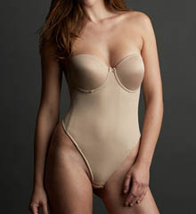 Va Bien Low Back Seamless Thong Bodysuit 1509