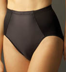 Satin Front Firm Control Brief Panties