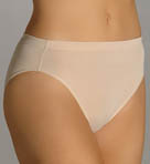 Comfort Essentials Microfiber Hi Cut Panties