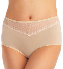 Vanity Fair Beautifully Smooth With Lace Briefs Panties 13231