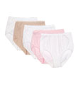 Vanity Fair True Comfort 5 Pack Cotton Brief Panty 13330