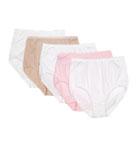 True Comfort Cotton Brief Panty - 5 Pack