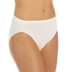 True Comfort 5 Pack Cotton Hi-Cut Panty
