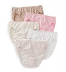 True Comfort Cotton Hi-Cut Panty - 5 Pack Image