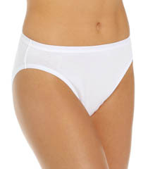 True Comfort 5 Pack Cotton Stretch Hi-Cut Panty