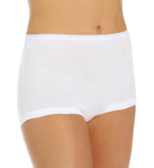 Vanity Fair Lollipop Legband Brief Panties - 3 Pack 15367