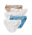 Vanity Fair True Comfort 5 Pack Cotton Stretch Bikini Panty 18342