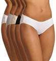 True Comfort Cotton Stretch Hipster Panty - 5 Pack Image