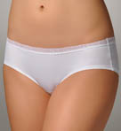 Microfiber & Lace Hipster Panty