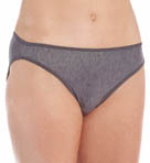 Vassarette Silken Heather Hi-Cut Panty 14338