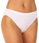 Vassarette Microfiber No Ride Up High Cut Panty 14416