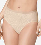 Alluring Hi Cut Brief Panty