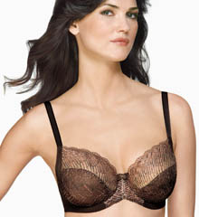 La Femme Full Figure Underwire Bra