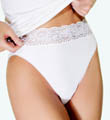 Wacoal Hi-Cut Cotton Brief Panties 87135