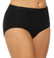 Cotton Suede Tailored Brief Panty Image
