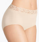 Cotton Suede New Brief Panty Image