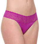 No Pinching No Problems Lace Zebra Thong