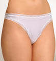 Warner's Secret Makeover Striped Thong 5071